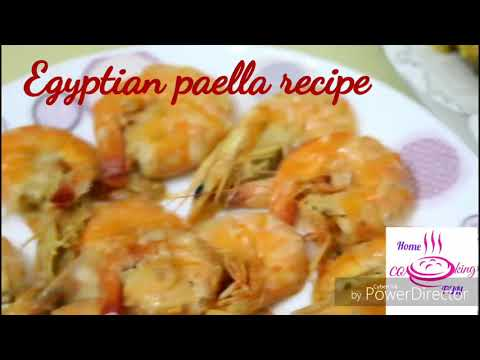 Egyptian paella recipe with delicious broth,  so simply and so delicious