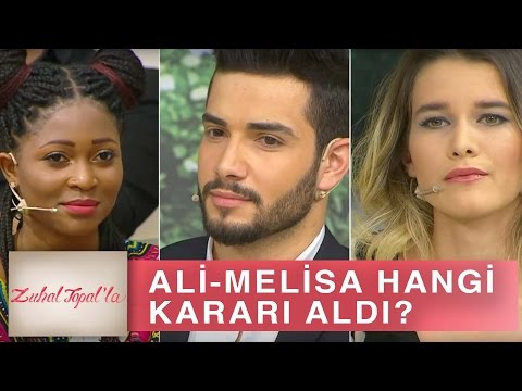 Zuhal Topal'la 188. Bölüm (HD)   Ali ve Melisa Hangi Kararla Stüdyoda?