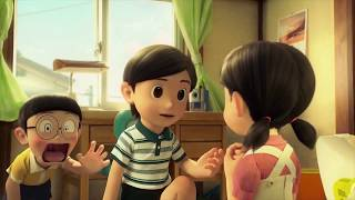 cute romantic animated love video song (Hue bechain song & Doraemon cartoon)for whatsapp status