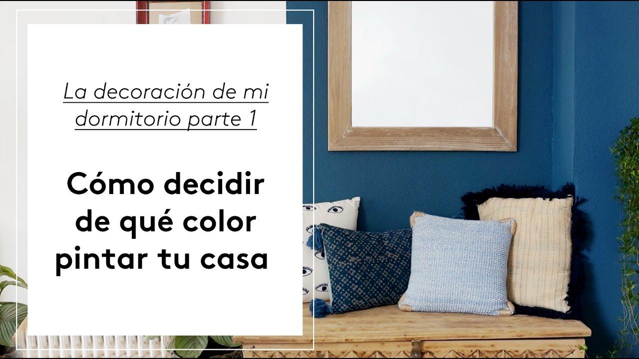 C mo decidir de qu color pintar tu casa decoraci n del for Como pintar tu casa