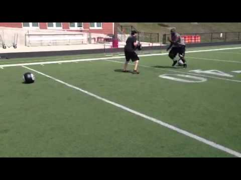 Geno Atkins Agility & Hand Combat Drill