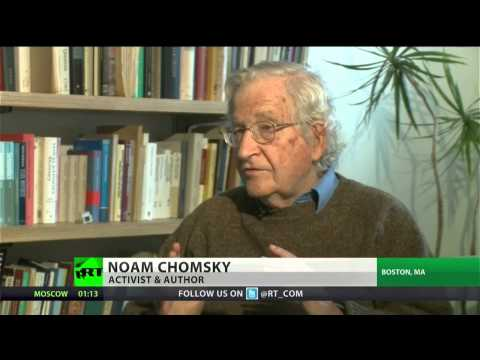 Noam Chomsky: Democrats are really moderate Republicans