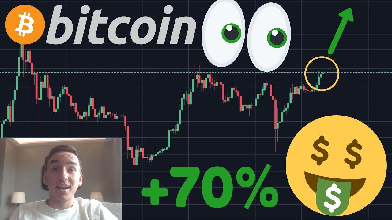 HUUUGE NEWS!!! BITCOIN COULD PUMP 70% IN 2 WEEKS ACCORDING TO THIS CHART!!!