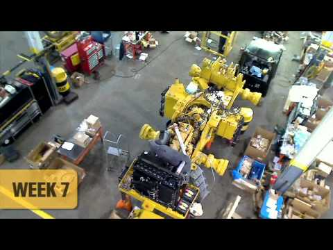 Certified Rebuild |  Cat® 980G Rebuilt | Timelapse Video