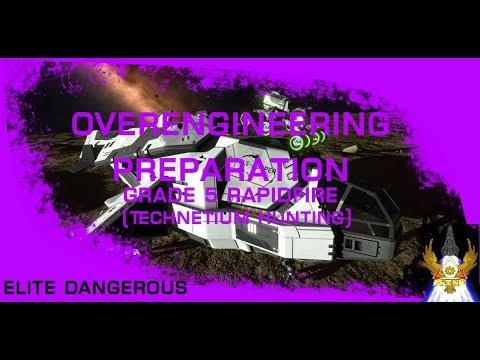 OVERENGINEERING PREPARATION (Technetium Hunting)