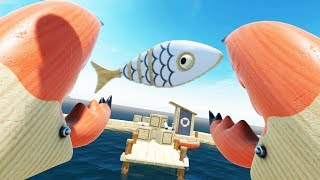 VR Crab Monster! Awesome Mulitplayer Mini-Games! - Loco Dojo Gameplay - VR HTC Vive Pro