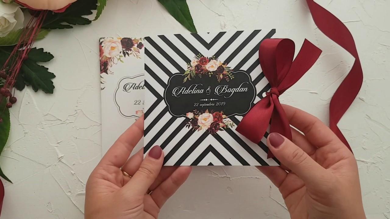 Invitatii Nunta Personalizate Invitatie Nunta Iluzia By Adebo