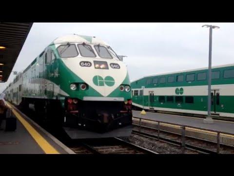 Un Recorrido En Tren Por Toronto Youtube