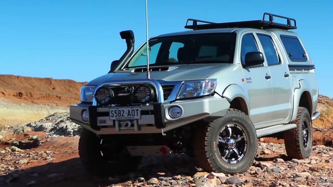 2012 Toyota Hilux Arb Sahara Bar  Arb4x4 01:36 HD