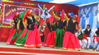 Notre Dame song Phedu pako baromasa by S Nautiyal Gumla JKD