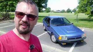 1986 Renault Fuego Turbo!  (Real NZ Road Test)