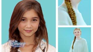 Hair Tutorial - Rowan Blanchard Fish Tail Braid - Official Disney Channel UK HD