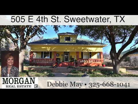 505 E 4th St. Sweetwater, TX