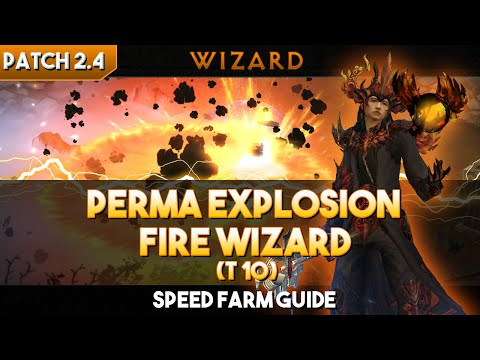 Diablo 3 [Patch 2.4]: Wizard Perma Explosion Build (T10) | Speed Farm Guide