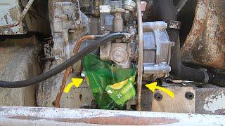 Pompka paliwowa zasilająca  - wymiana w C-330