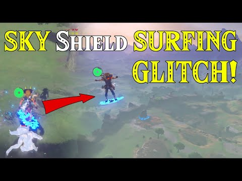 SKY Shield SURFING! The ULTIMATE GLITCH found! GAME CHANGER in Zelda Breath of the Wild!