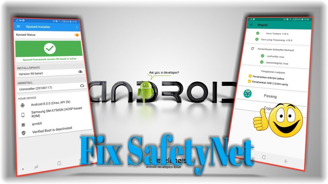 Xposed installer Magisk For all Android || Fix SafetyNet Magisk || Full  Tutorial 2019
