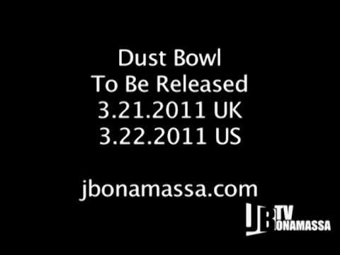 Joe Bonamassa - DUST BOWL INTERVIEW (part 1)