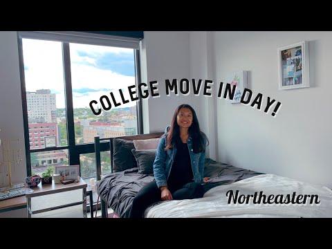 College Move In Day   Northeastern University   Junior Year
