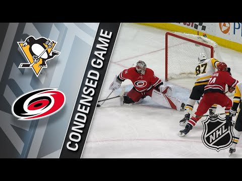 02/23/18 Condensed Game: Penguins at Hurricanes