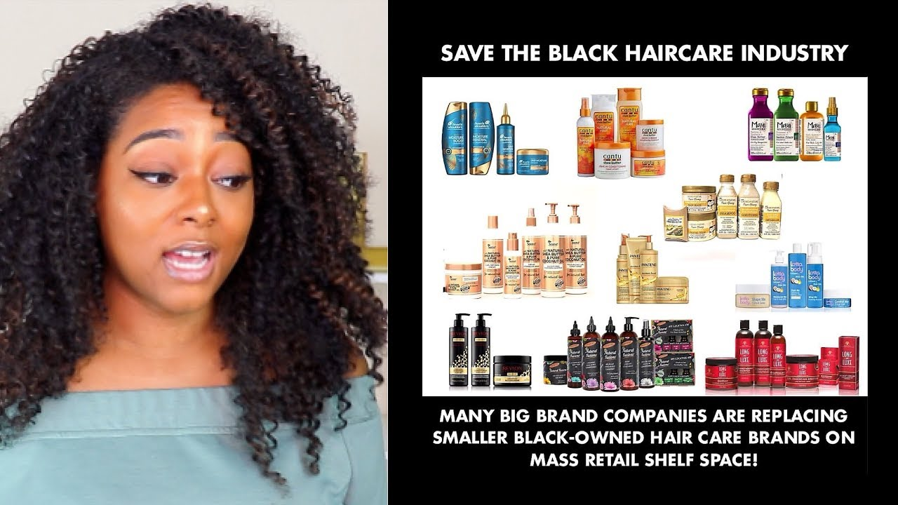 Save Black Hair Care | Are Black Owned Businesses Being Kicked Off Shelves by Big (non-black) Brands