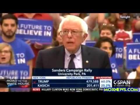 Bernie Sanders Packs The House At Pennsylvania State University!