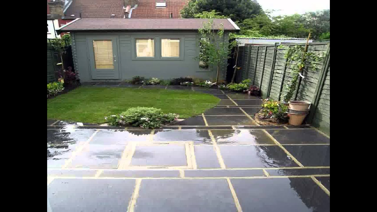 Small space garden paving ideas youtube for Paving ideas for small gardens