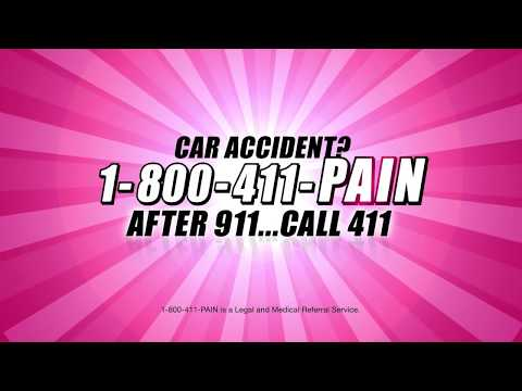 Call 1800411PAIN After Accident