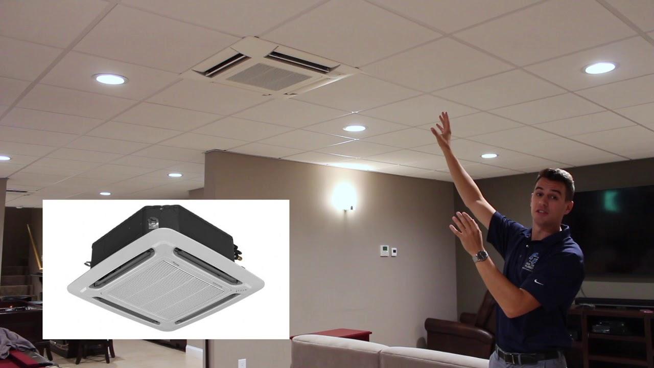 Ductless Mini Split Install Ceiling
