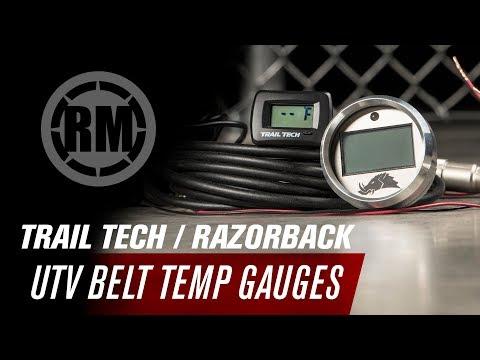 3.0 Edition UTV Infrared CVT Belt Temperature Gauge