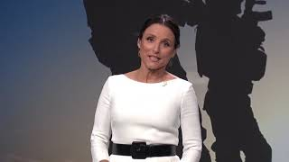Julia Louis-Dreyfus Brings Humor At DNC