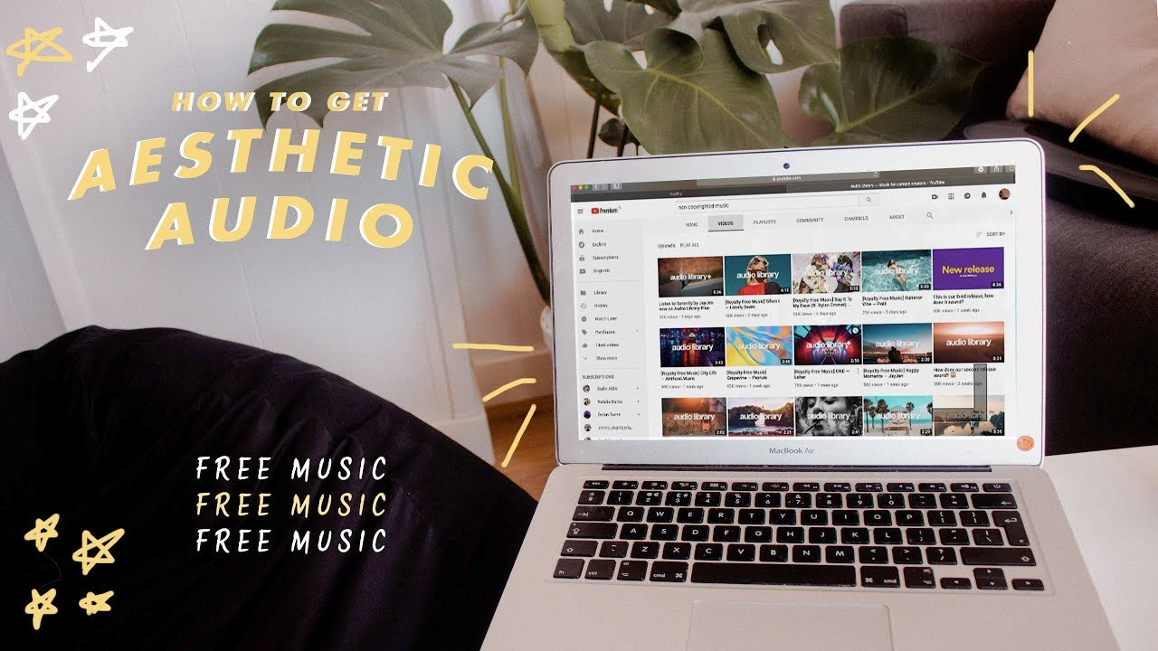 20 14 MB) how to get aesthetic audio for your youtube videos