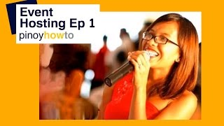 Event Hosting - Emceeing in the Philippines Episode 1