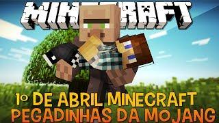 Minecraft 2.0 e Ultra HD - Pegadinhas da Mojang !!