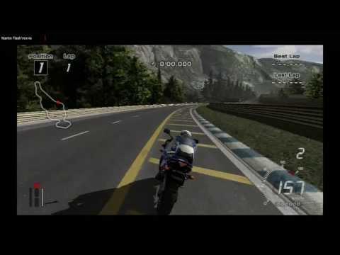 Tourist Trophy PS2 HD 1080i Yamaha R1 TT