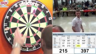 World Darts Championship 2016 EADC Qualifier Semi Final Kolesov vs Izotov pt 2