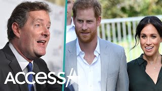 Piers Morgan Blasts Meghan Markle And Prince Harry For 'Snubbing' The Queen By Skipping Christmas