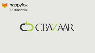 happyfox helpdesk testimonial cbazaar