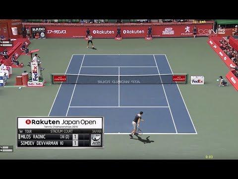 Raonic vs Devvarman | R1 Open Tokyo Atp500  | Ép.140 Tennis Elbow 2013