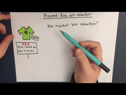 fa2b84ff4080 Procent: Rabatter och rea - YouTube