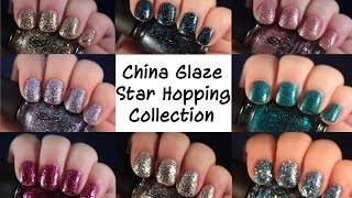China Glaze Star Hopping Collection | Live Application Review