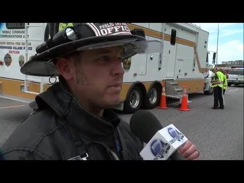South Metro Fire Spokesman Gives Update On I-25 Fire