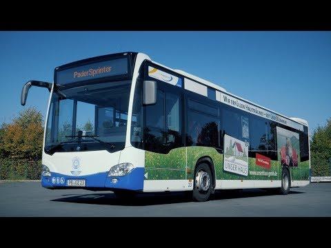 Unser Haus GmbH | Trailer zum Bus Branding im Corporate Design | Padersprinter | 4K