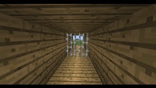 Minecraft Механизмы #13: Ворота без видимых поршней(В этой порции механизмов я научу вас делать очень интересные двери без видимых поршней. Этот механизм предн..., 2013-08-17T18:43:18.000Z)