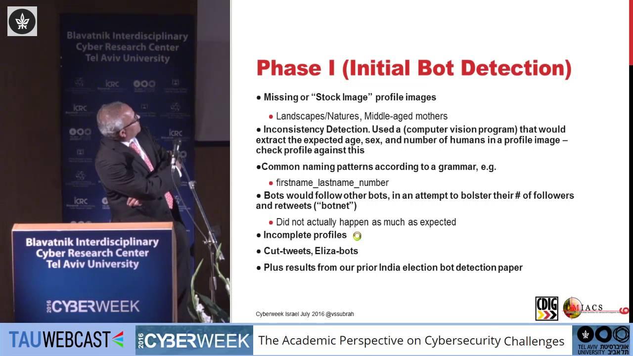 Cyber Bot Twitter