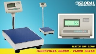 Industrial Floor Scale, Bench Scales
