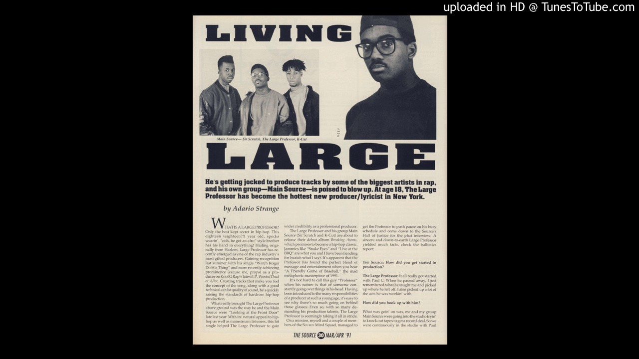 Large Professor – Live At The Barbeque (Instrumental) - YouTube
