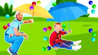 Rain Rain Go Away Song #7 | Mirik Yarik Nursery Rhymes & Kids Songs