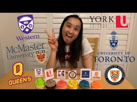 CANADIAN UNIVERSITY DECISION REVEAL 2019 (UOFT, MCMASTER, QUEENS, WESTERN, WATERLOO, YORK).