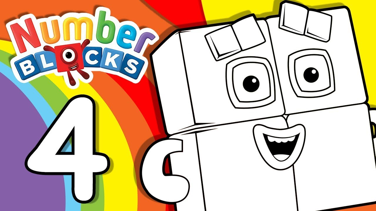 coloring pages counting numbers youtube - photo#20